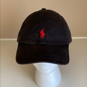 Polo by Ralph Lauren Baseball cap black and red